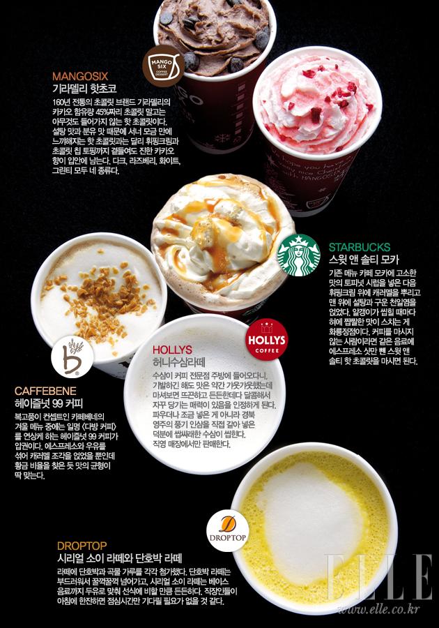 韓国で冬に味わえる甘~いコーヒー