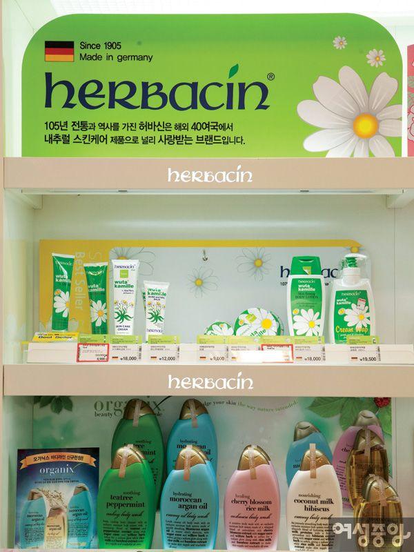 韓国のドラックストア『Oliveyoung』
