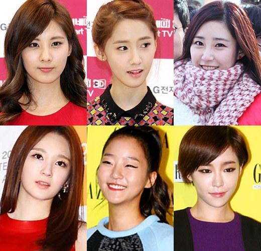 韓国芸能人の間で流行っている眉毛