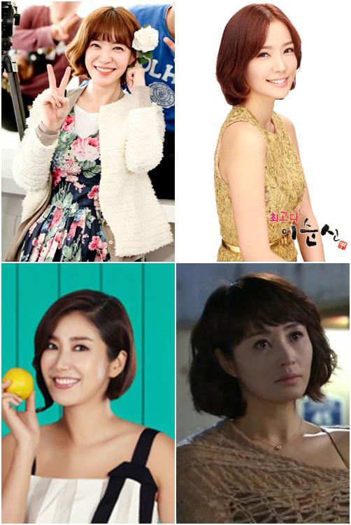 韓国の女優が選んだヘアスタイル