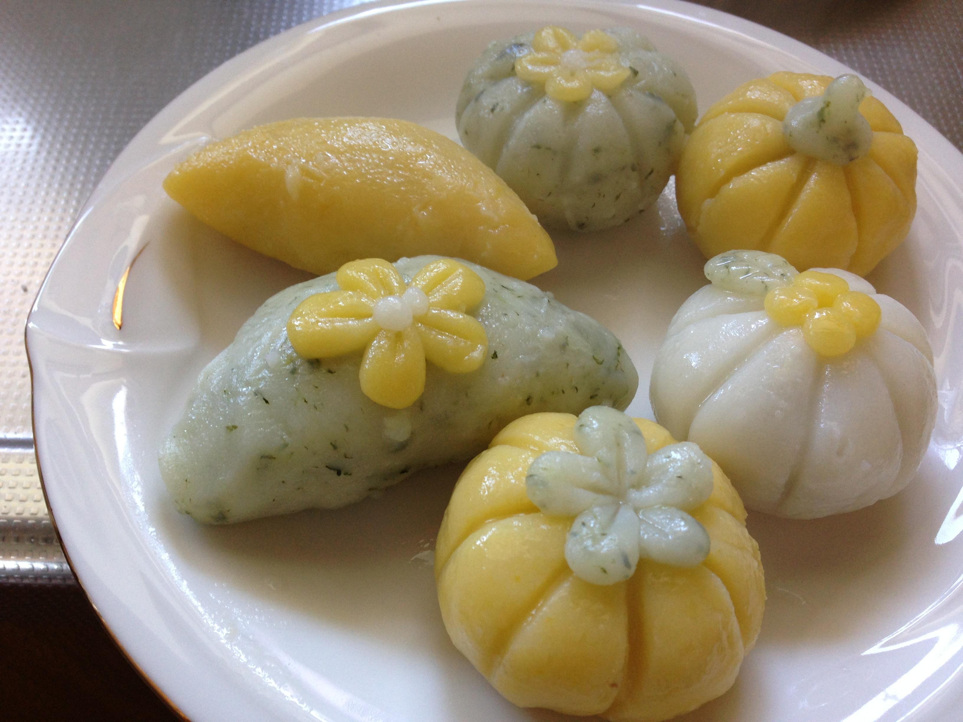 日本の食材で韓国餅を手作り