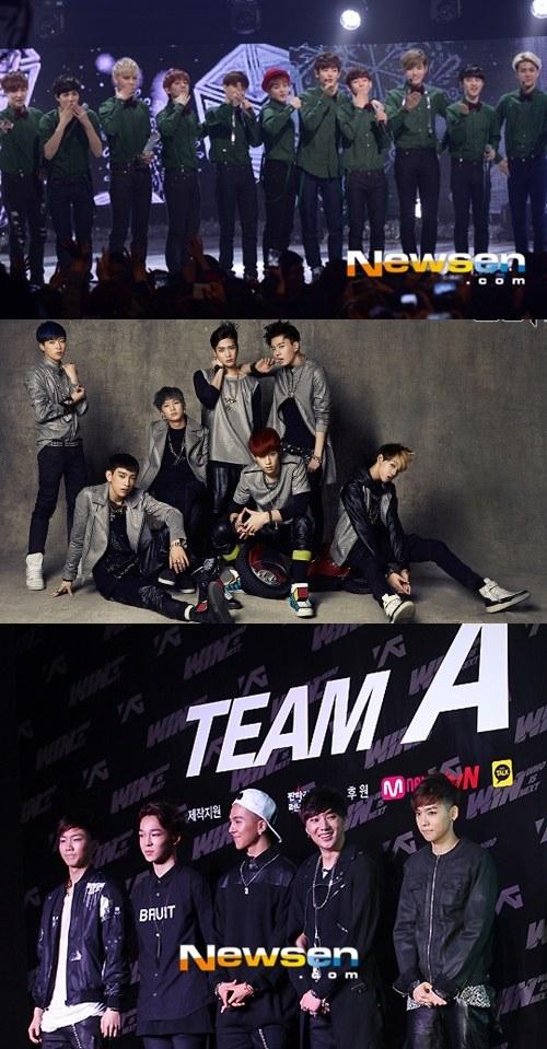 韓国3大芸能事務所の新人男性アイドル