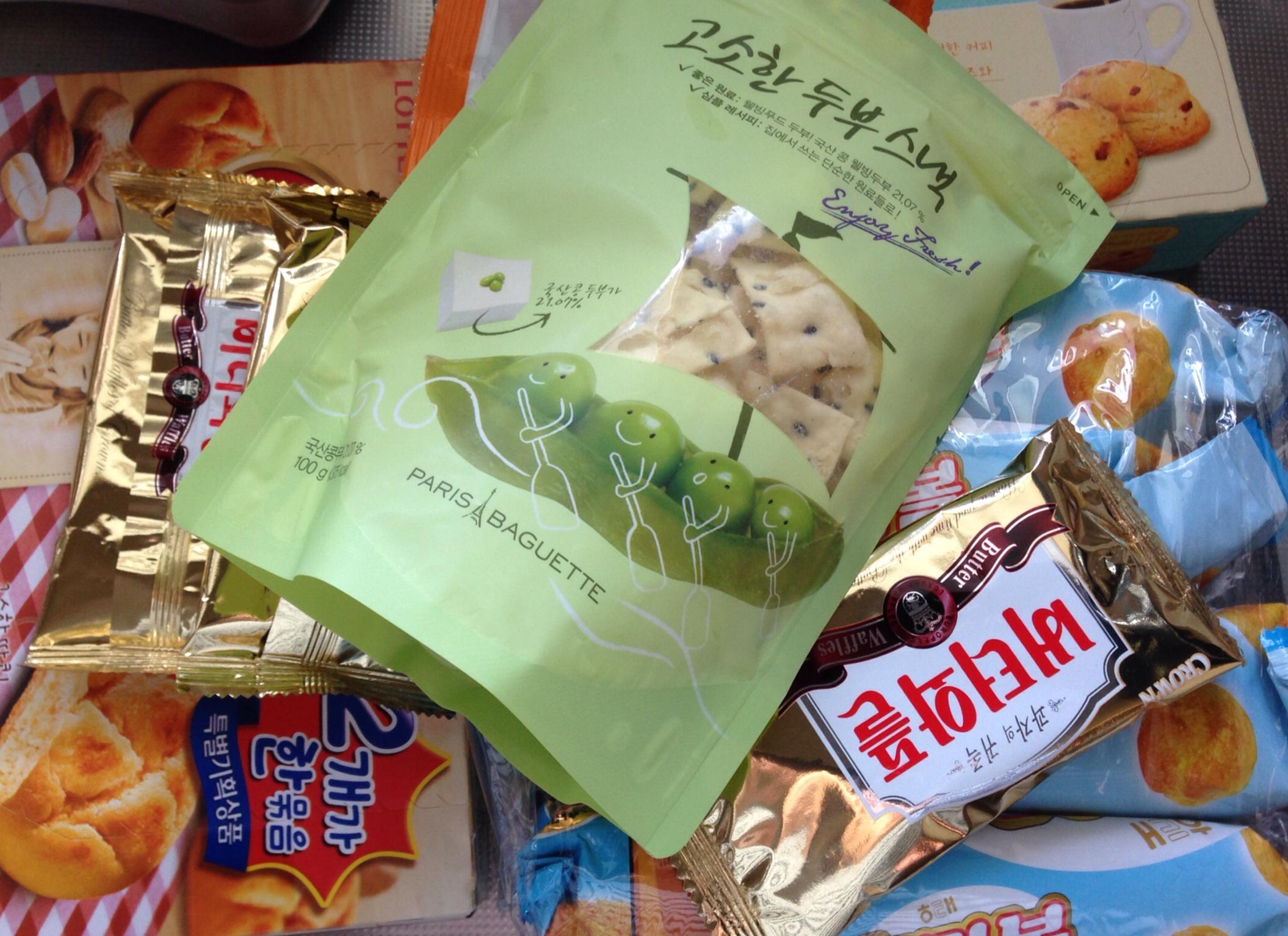 韓国で食べておいしかったお菓子