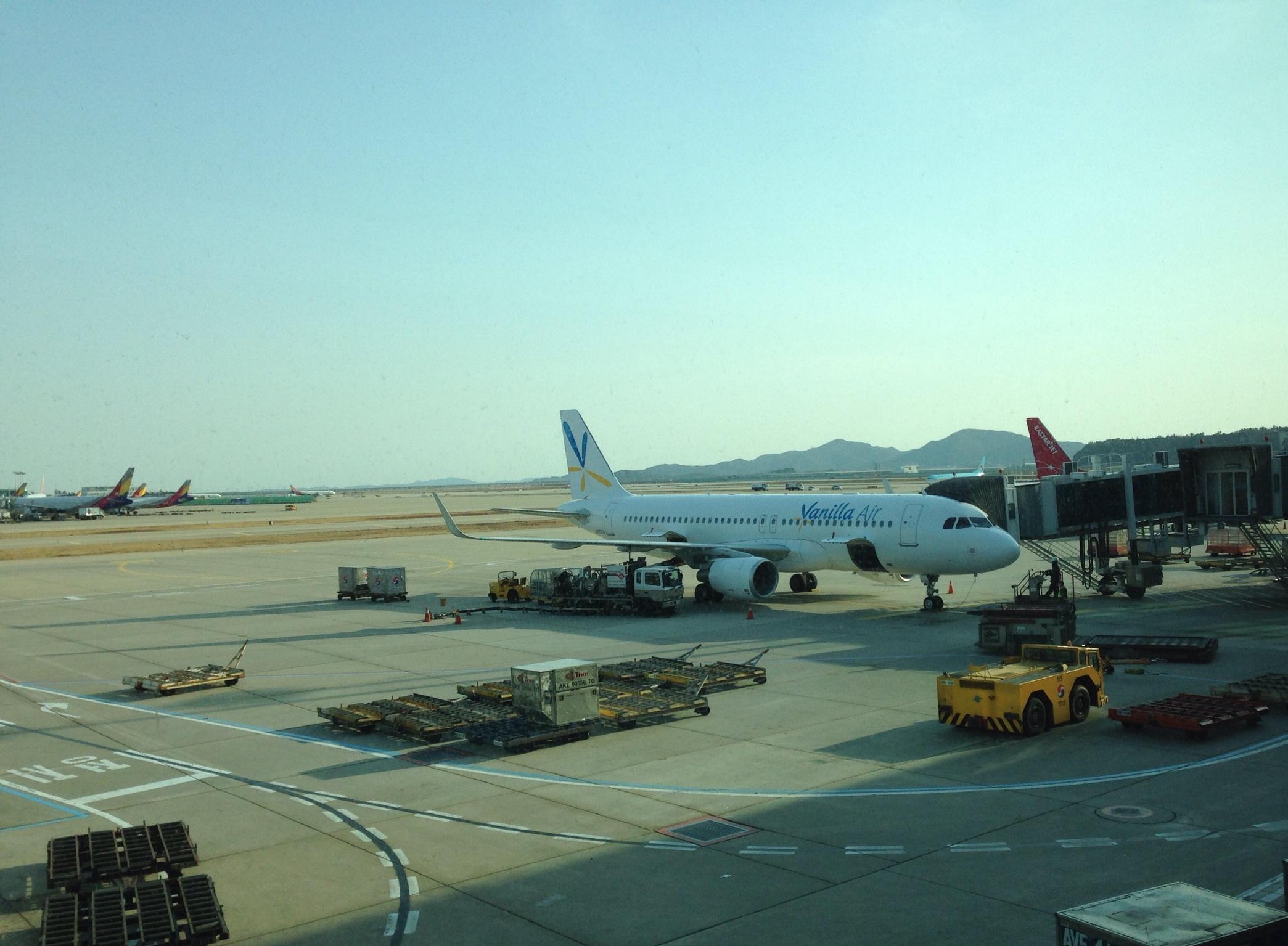 バニラエアに乗って韓国へ