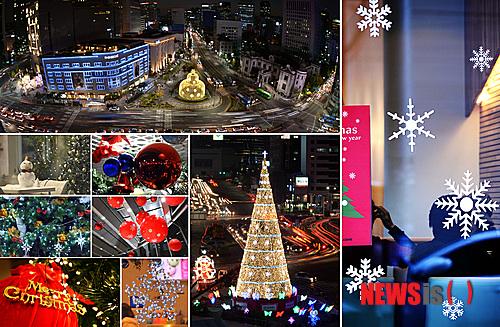 韓国、今年のクリスマスイルミネーションは