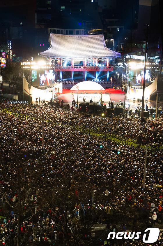 2013年を韓国人はここで迎える!