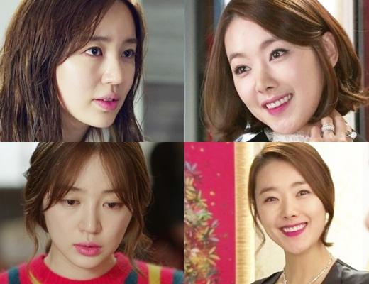 韓国ドラマの中の女優メイク