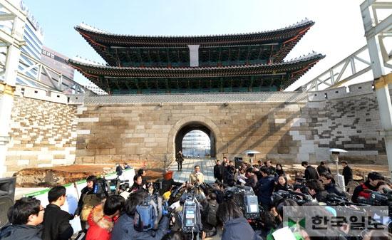 5年ぶりに戻ってきた韓国の南大門