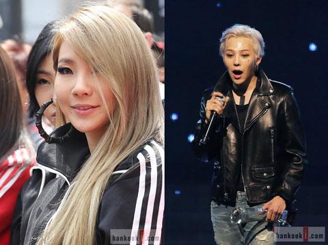 G-DragonとCLが二人でステージに