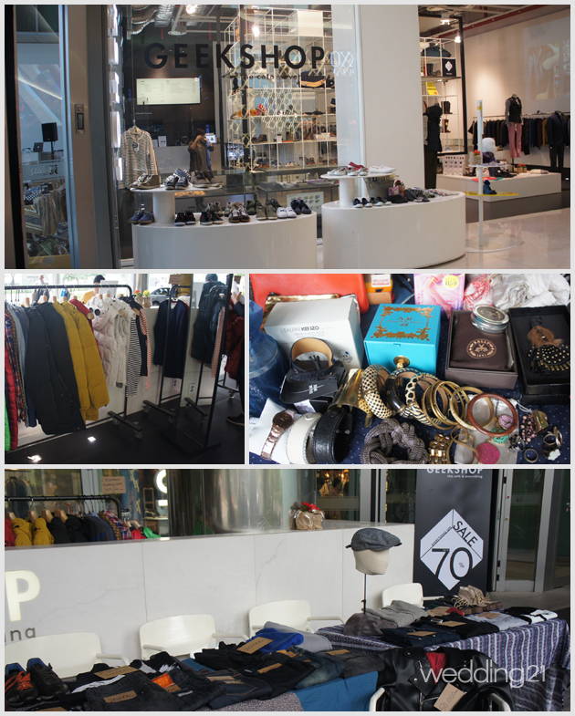 ファッション好きが集まる『GEEK SHOP』フリーマーケット