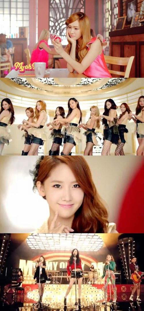 少女時代、日本新曲「My Oh My」pv