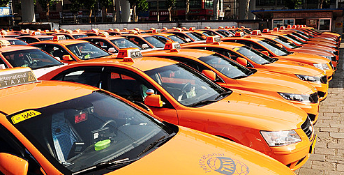 韓国語講座(タクシーのドアは自分で開けましょう)