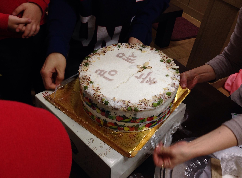 韓国での1歳誕生日祝い&プレゼント