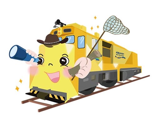 床暖房列車で韓国観光ができる!