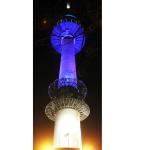 南山タワーの光の色には意味がある!